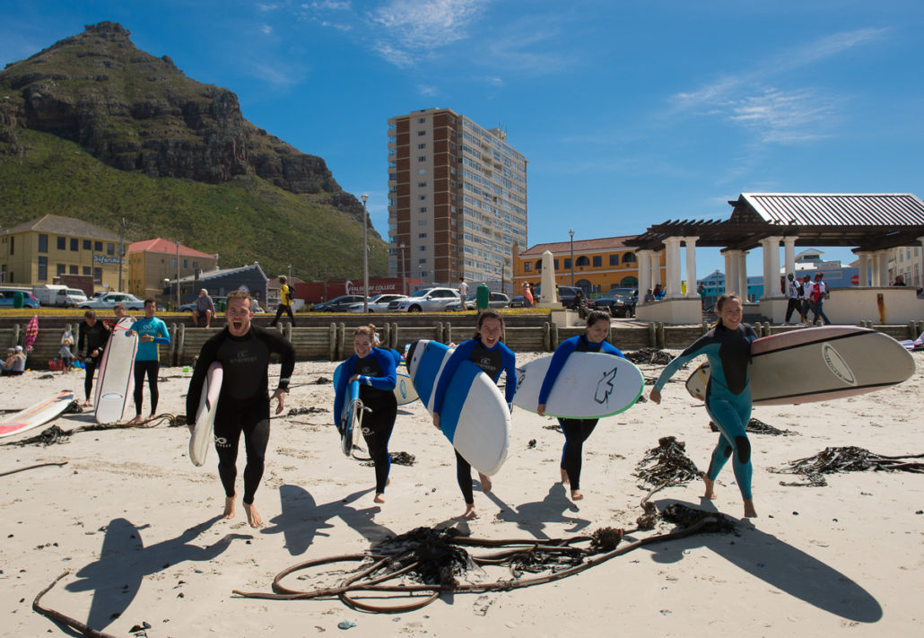 Shark project in South Africa in Cape Town. False Bay.